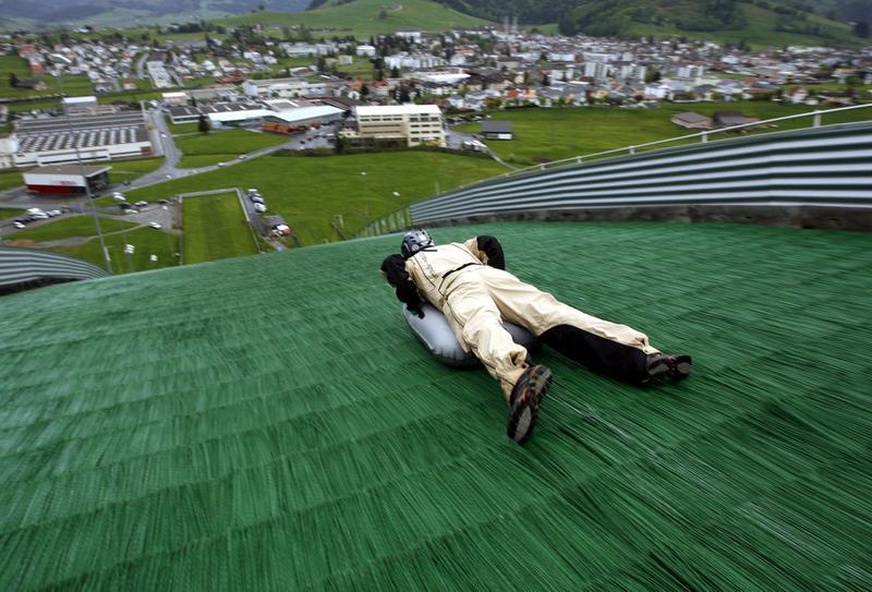 Twitterbier Zürichsee Summer Special 2014: Airboarding